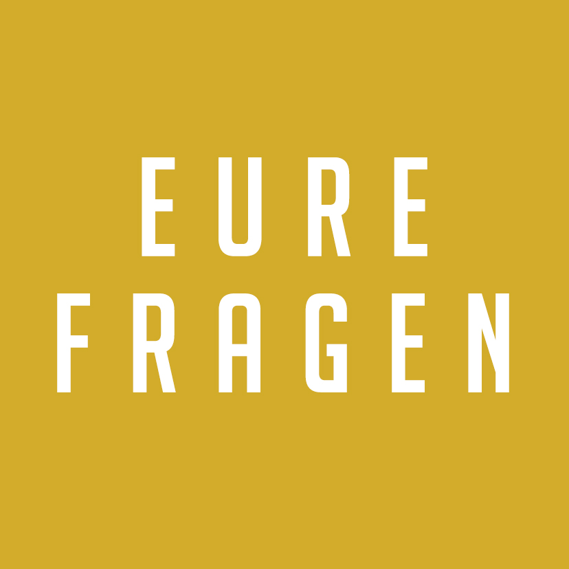 You are currently viewing Eure Fragen